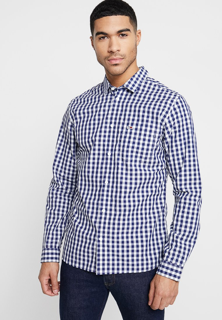 Tommy Jeans - GINGHAM - Hemd - white