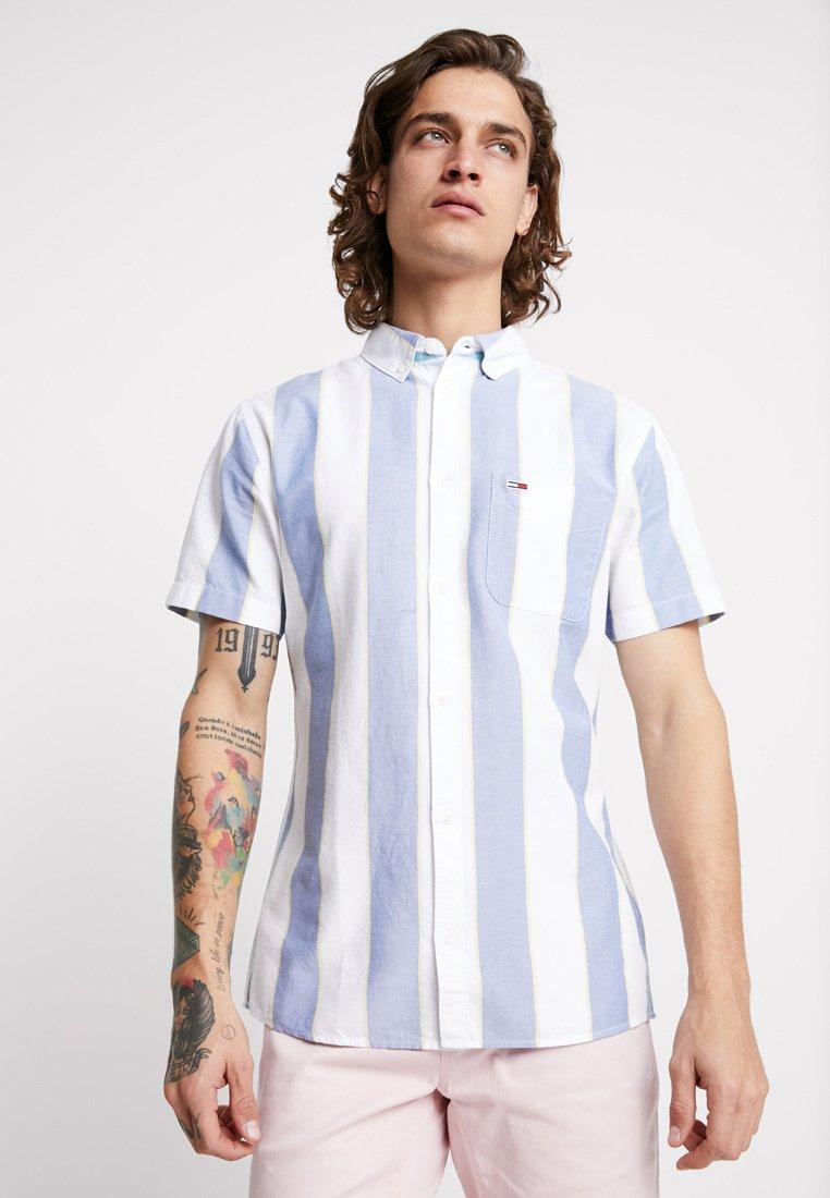 Tommy Jeans - STRIPED OXFORD REGULAR FIT - Hemd - blue