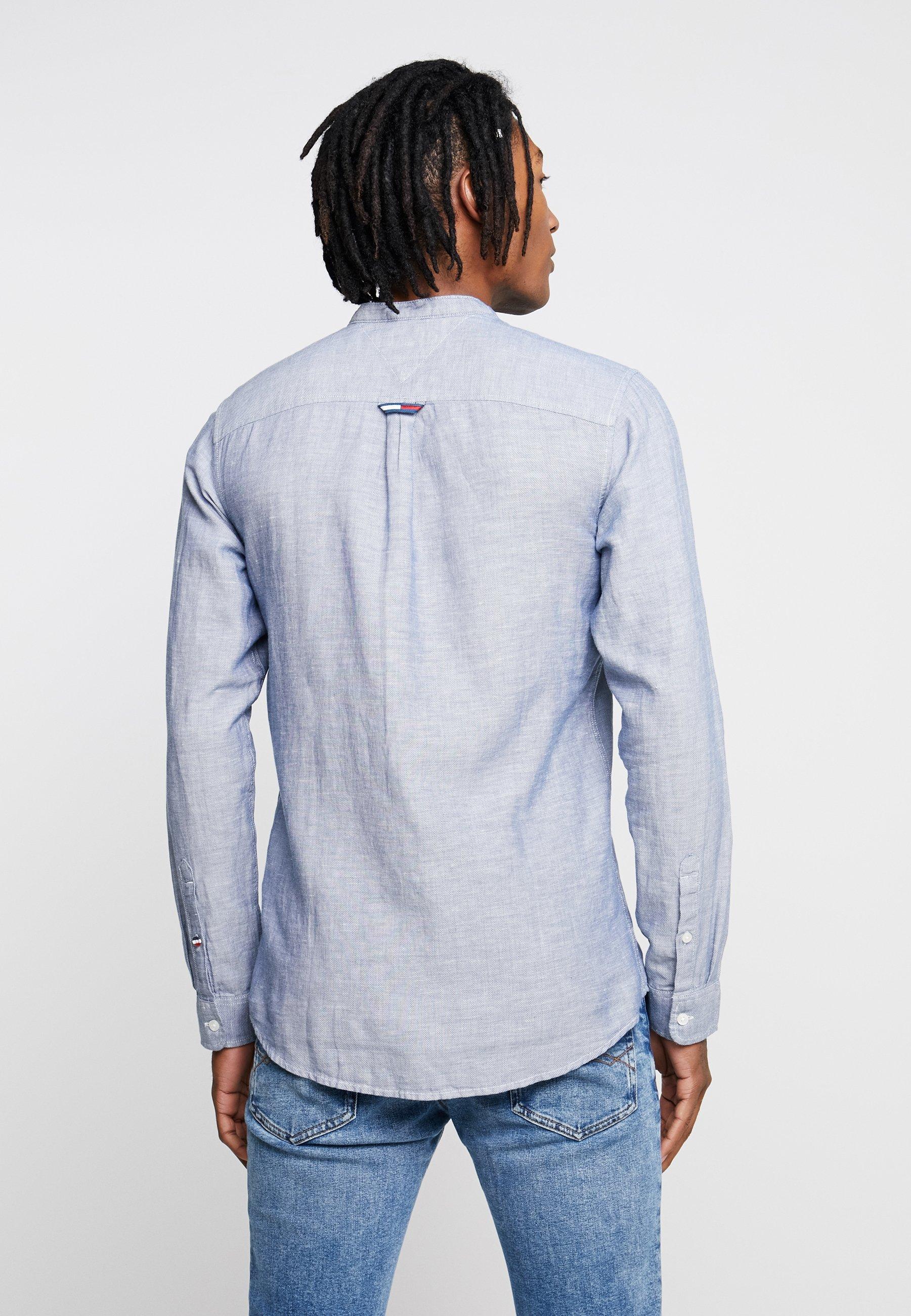 ShirtChemise Tommy Jeans Blue Tjm Mao Linen CtQhrsd