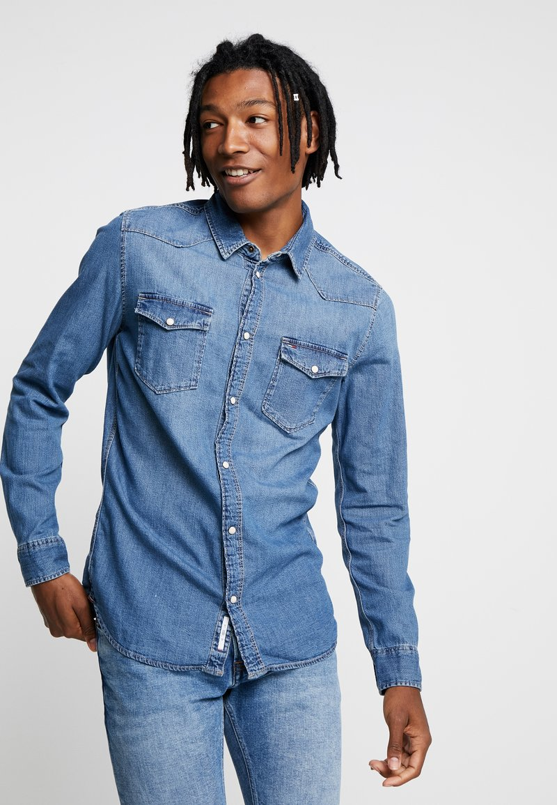 Tommy Jeans - WESTERN SHIRT - Shirt - denim