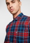 Tommy Jeans - ESSENTIAL CHECK - Shirt - blue