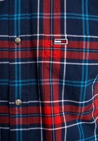 Tommy Jeans - ESSENTIAL CHECK - Shirt - blue - 4