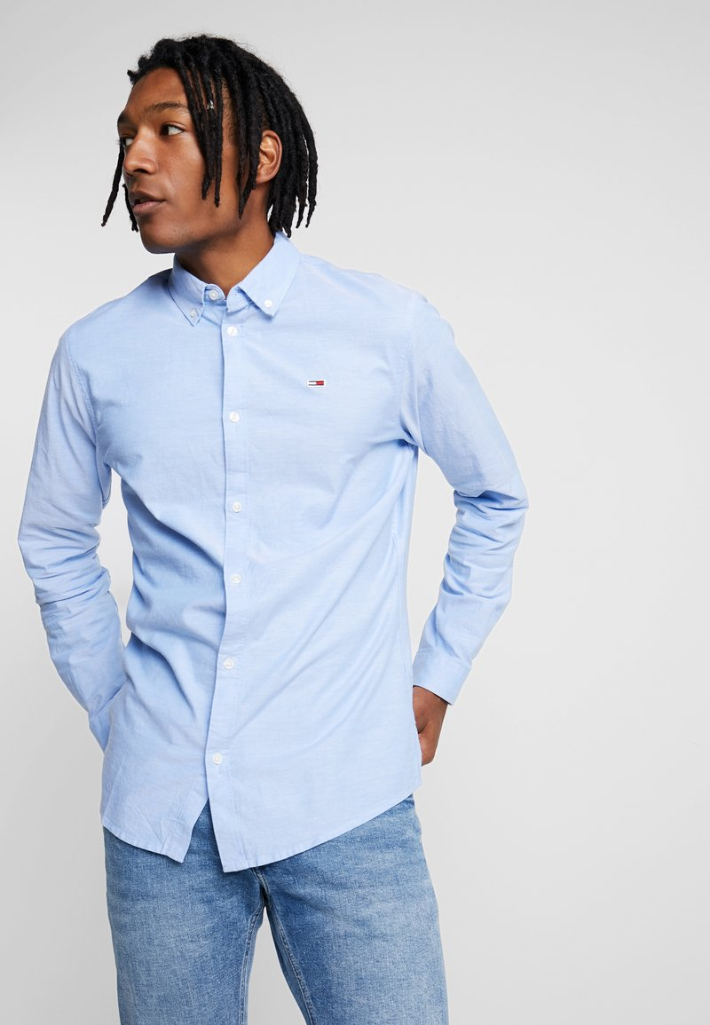 Tommy Jeans - OXFORD - Shirt - blue