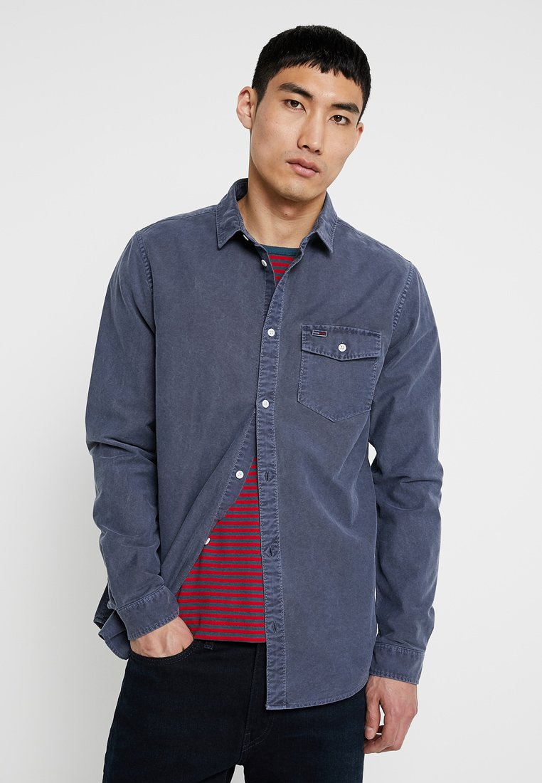 Tommy Jeans - WASHED OXFORD - Shirt - blue