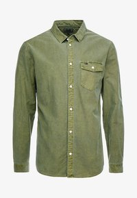 Tommy Jeans - WASHED OXFORD - Chemise - green - 4