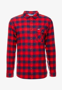 Tommy Jeans - CHECK SHIRT - Camisa - flame scarlet - 3
