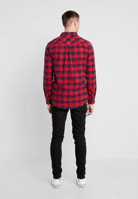 Tommy Jeans - CHECK SHIRT - Chemise - flame scarlet - 2