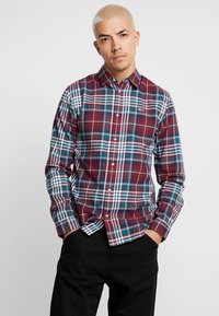 Tommy Jeans - ESSENTIAL - Chemise - burgundy - 0