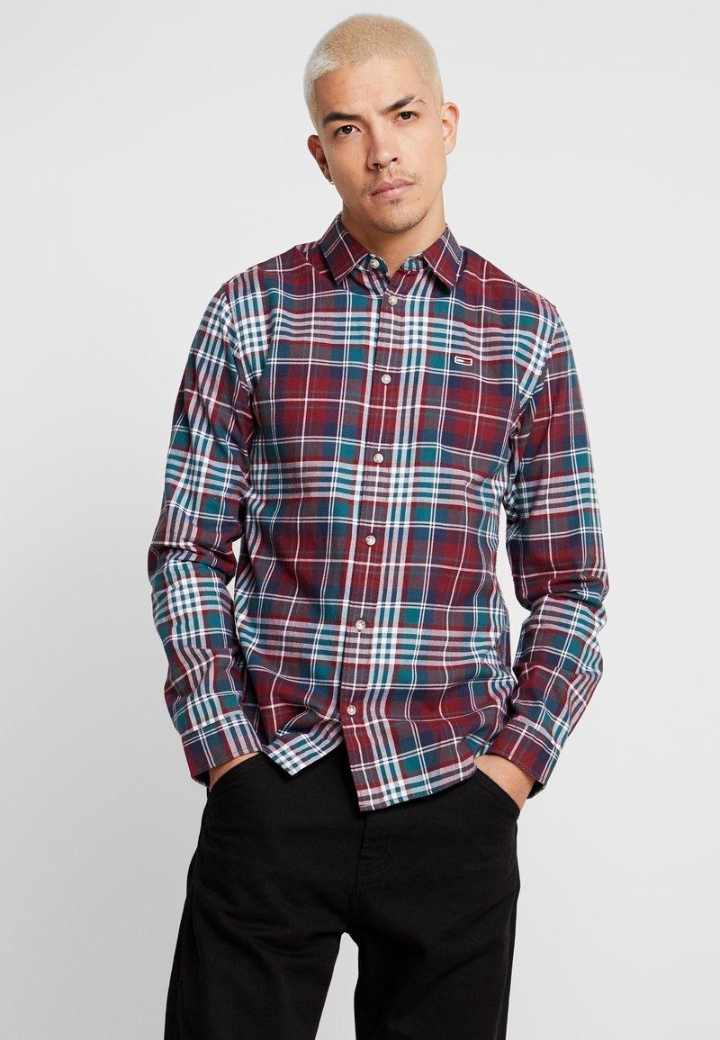 Tommy Jeans - ESSENTIAL - Skjorte - burgundy
