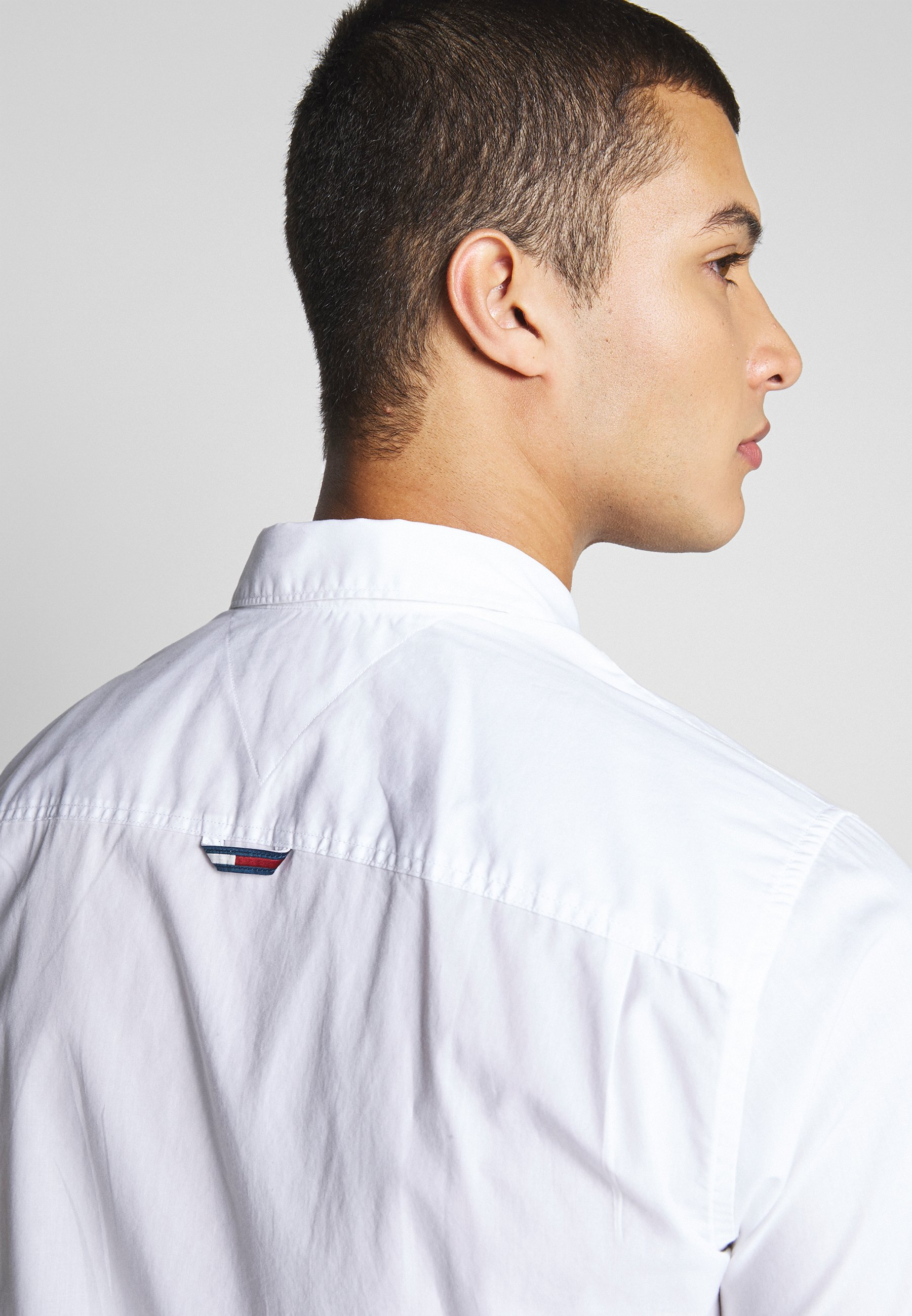 Tommy Jeans Shortsleeve Shirt - Skjorta White