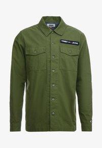 Tommy Jeans - OVERSHIRT - Košile - cypress - 3
