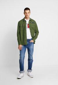 Tommy Jeans - OVERSHIRT - Košile - cypress - 1
