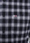 Tommy Jeans - CHECK SHIRT - Camisa - black