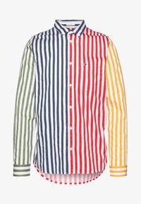Tommy Jeans - STRIPE MIX - Košile - classic white/multi - 4