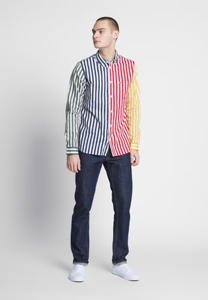 STRIPE MIX - Skjorta - classic white/multi
