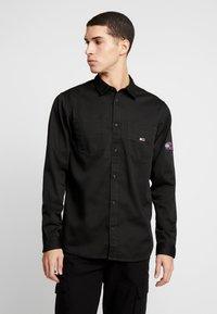 Tommy Jeans - POCKET - Koszula - black - 0