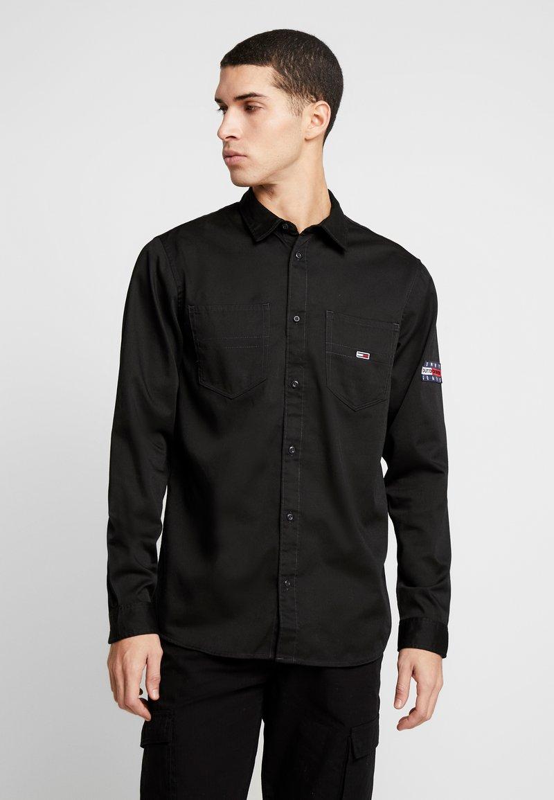 Tommy Jeans - POCKET - Koszula - black
