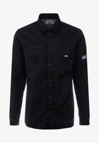 Tommy Jeans - POCKET - Koszula - black - 4