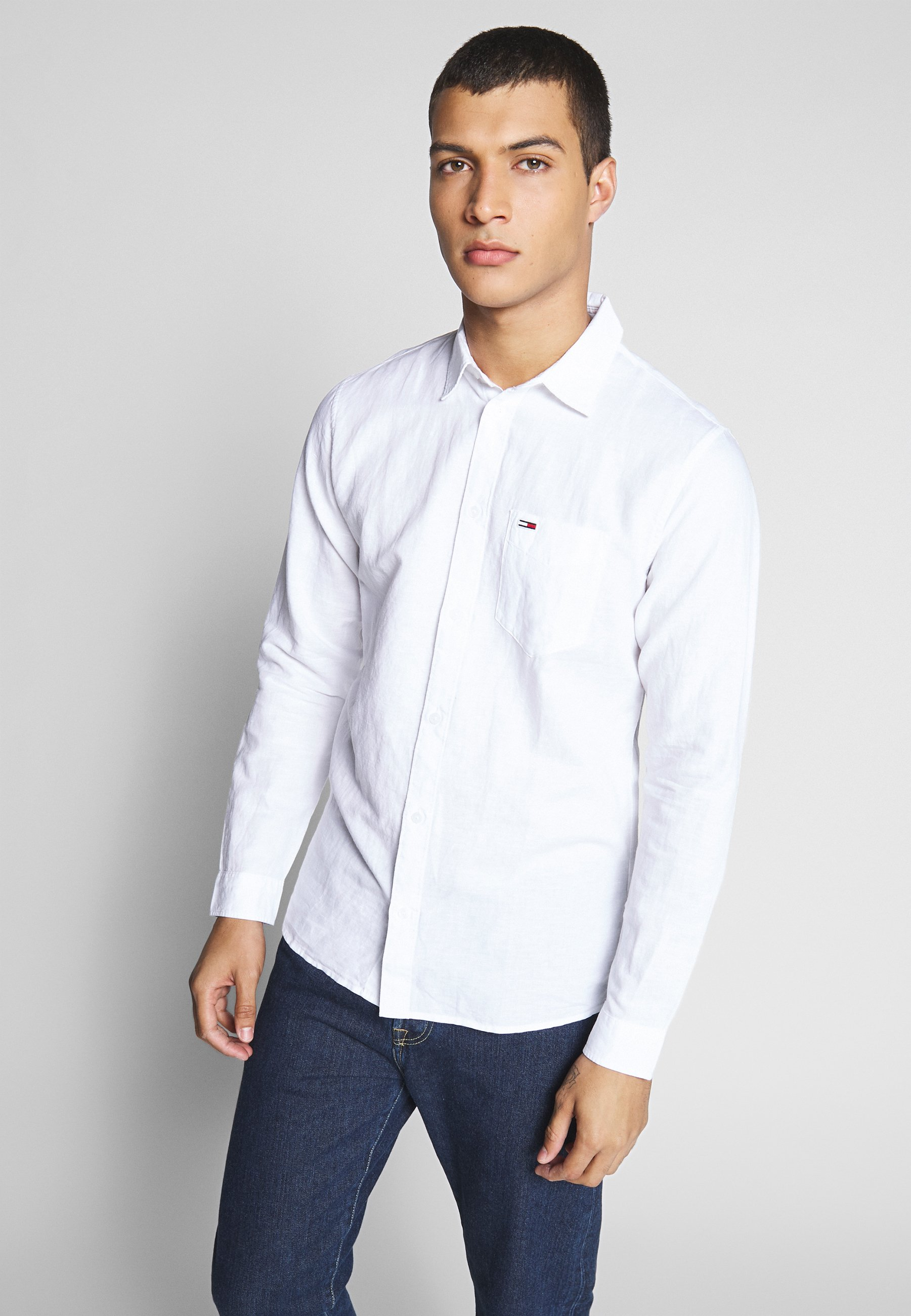 Tommy Jeans BLEND SHIRT - Koszula - white
