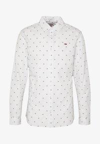 Tommy Jeans - NOVEL DOBBY POPLIN - Shirt - white/twilight navy - 5