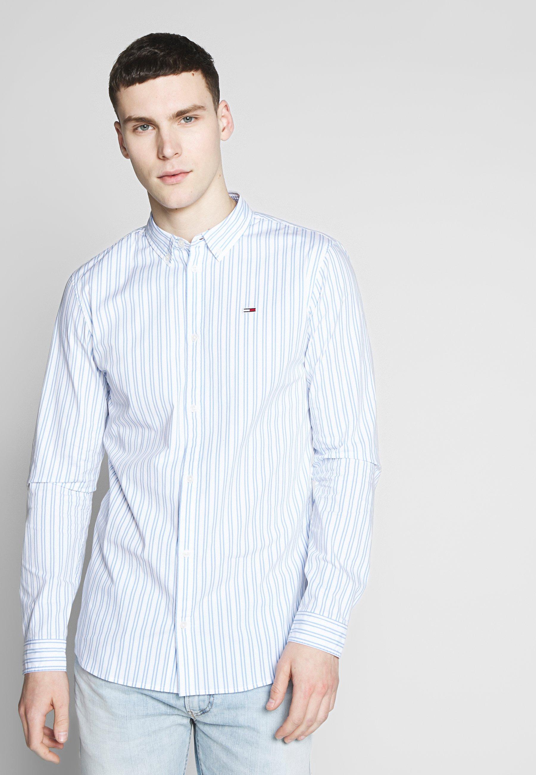 Tommy Jeans STRETCH POPLIN SHIRT - Koszula - white
