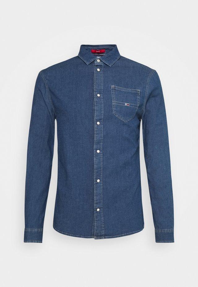 STRETCH SHIRT - Skjorter - mid indigo