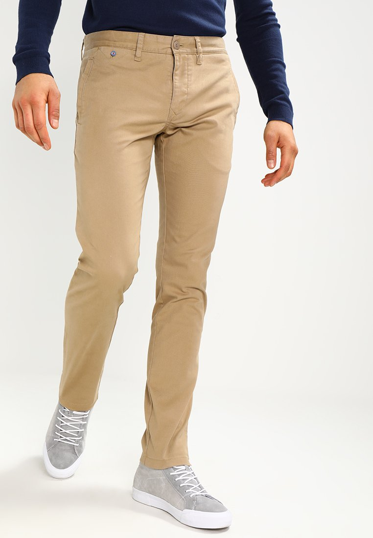 Tommy Jeans - SLIM FERRY - Chinos - beige