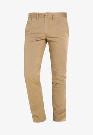 SLIM FERRY - Chinos - beige
