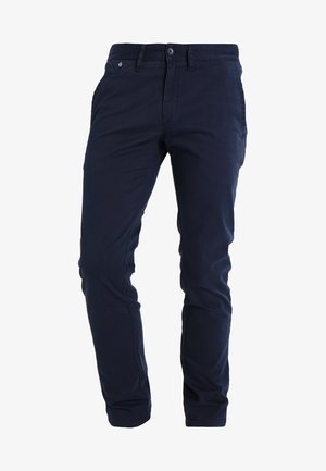 SLIM FERRY - Chino - navy blazer