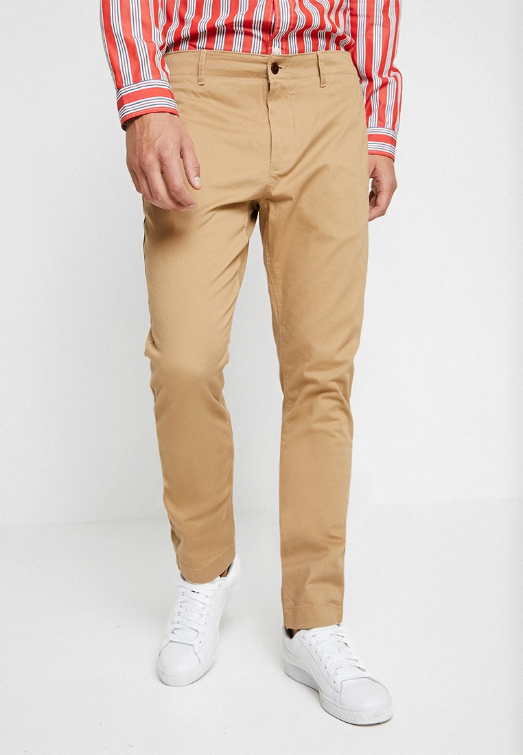 Tommy Jeans - ESSENTIAL SLIM - Chino - brown