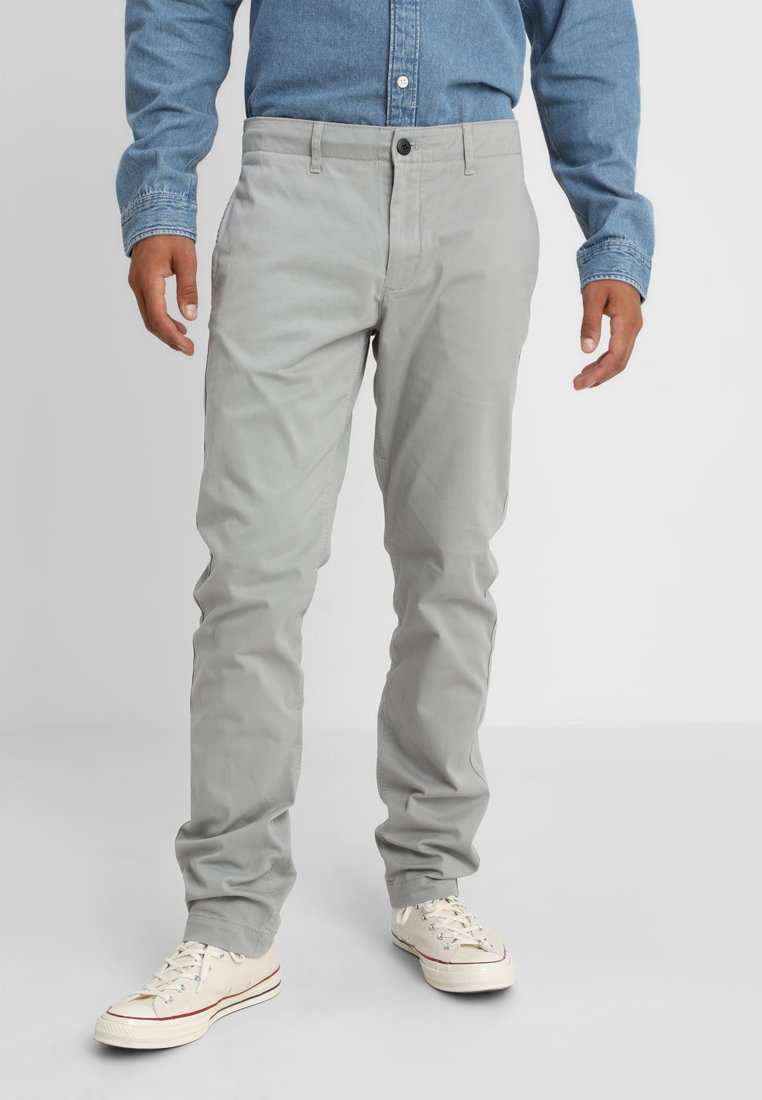 Tommy Jeans - ESSENTIAL SLIM - Chinos - grey
