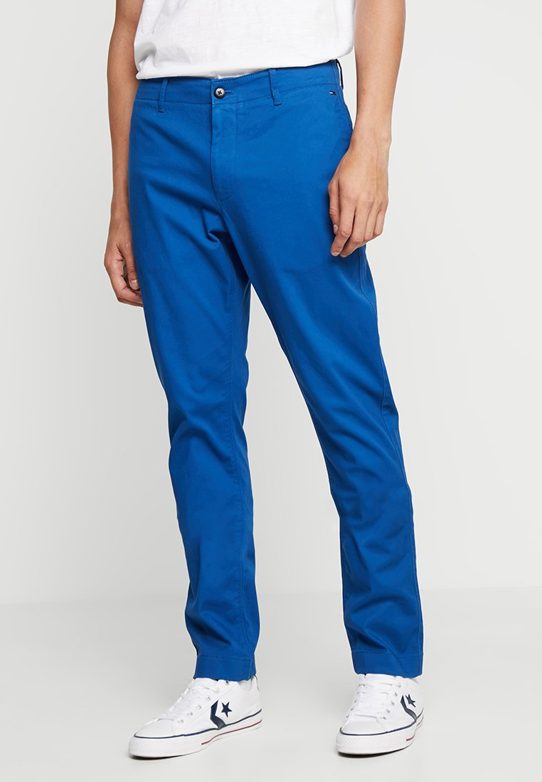 Tommy Jeans - ESSENTIAL SLIM - Chinosy - blue