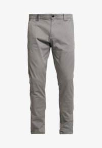 Tommy Jeans - SCANTON PANT - Chinosy - pewter - 4