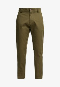 Tommy Jeans - SCANTON PANT - Chinosy - green - 4