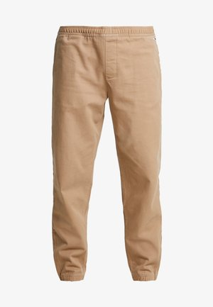 CUFFED PANT - Trousers - tigers eye