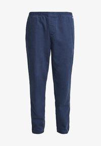 Tommy Jeans - CUFFED PANT - Spodnie materiałowe - black iris - 4