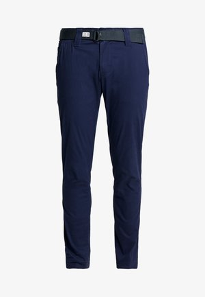 SCANTON DOBBY PANT - Trousers - black iris