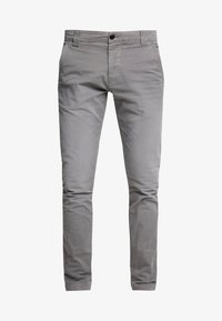Tommy Jeans - SCANTON WASHED PANT - Chinosy - grey - 4