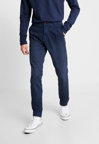 Tommy Jeans - SCANTON WASHED PANT - Chino kalhoty - dark blue - 0