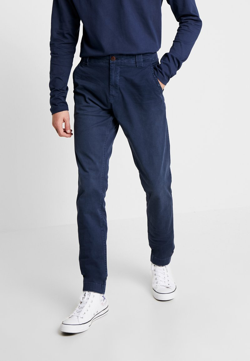 Tommy Jeans - SCANTON WASHED PANT - Chino kalhoty - dark blue