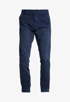 SCANTON WASHED PANT - Chino - dark blue
