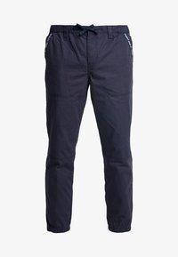 Tommy Jeans - PIECED JOG PANT - Trainingsbroek - black iris - 4