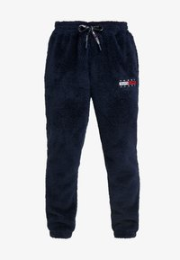 Tommy Jeans - PLUSH JOG PANT - Pantalones deportivos - black iris - 3