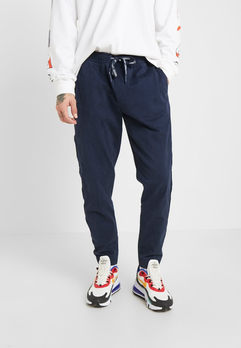 Tommy Jeans - BRANDED JOG PANT - Pantalones deportivos - black iris