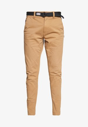 TAPERED BELTED PANT - Chinos - classic khaki