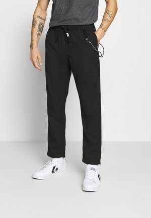 SCANTON SOLID TRACK PANT - Broek - black