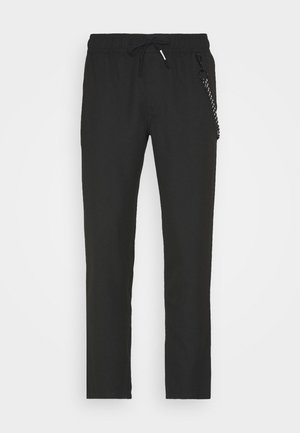 SCANTON SOLID TRACK PANT - Trousers - black