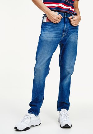 REY  - Džíny Slim Fit - blue denim