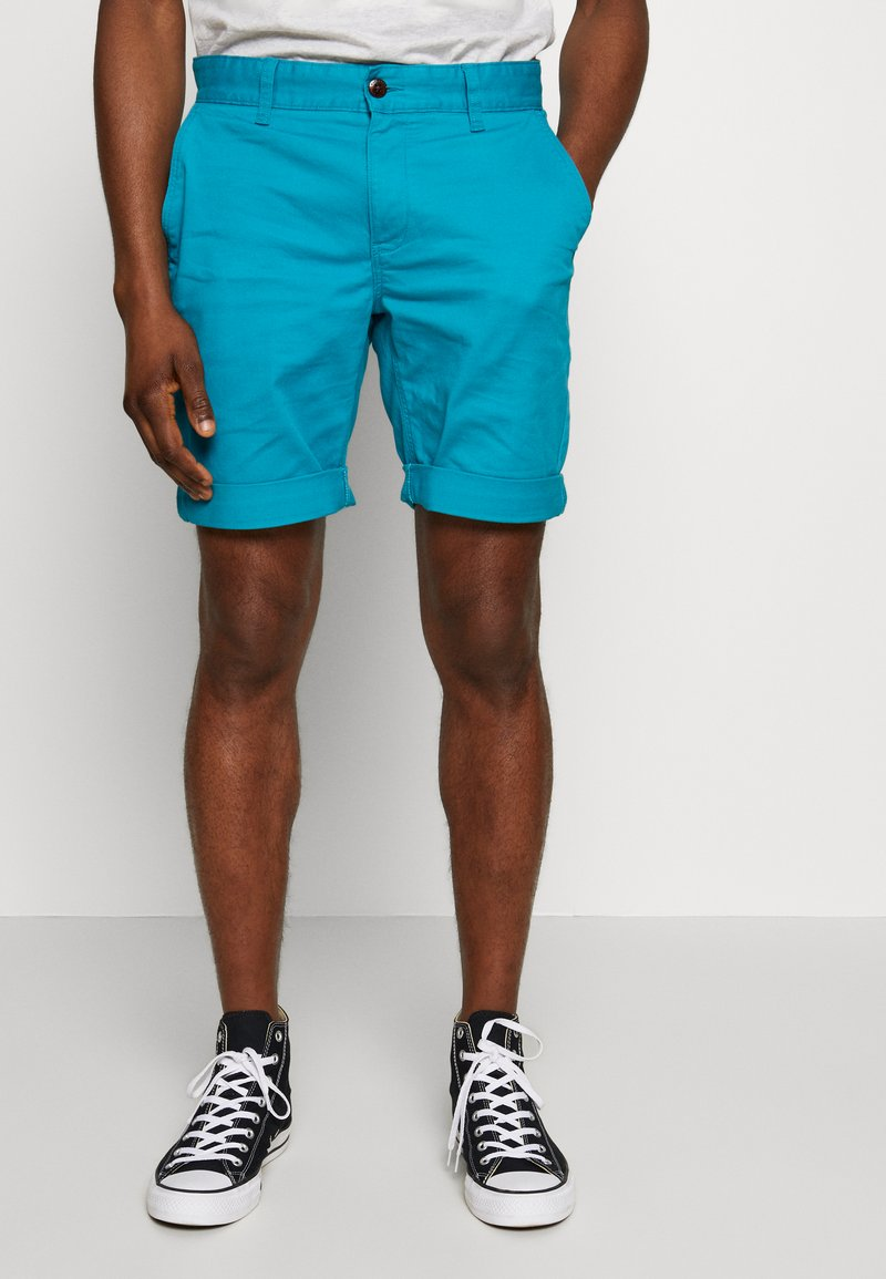 Tommy Jeans - ESSENTIAL - Shorts - exotic teal