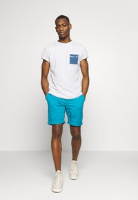 Tommy Jeans - ESSENTIAL - Shorts - exotic teal - 1